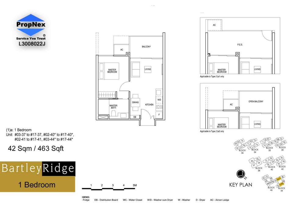 BartleyRidge 1Bdrm RS