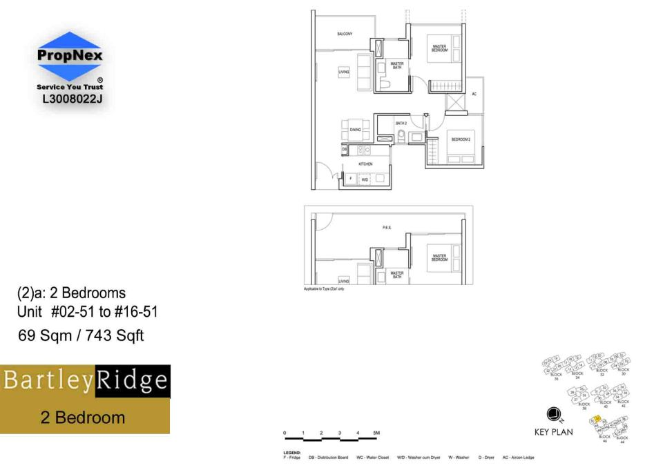 BartleyRidge 2Bdrm RS
