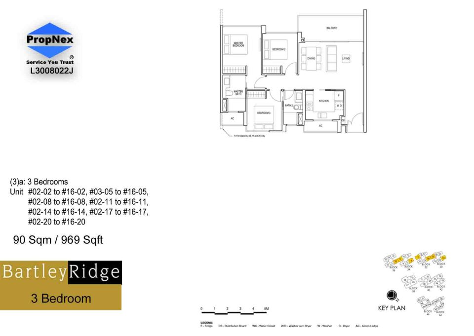 BartleyRidge 3Bdrm RS