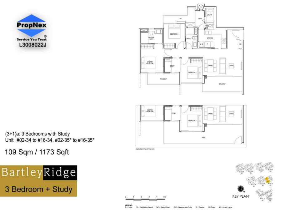 BartleyRidge 3Bdrm+Study RS