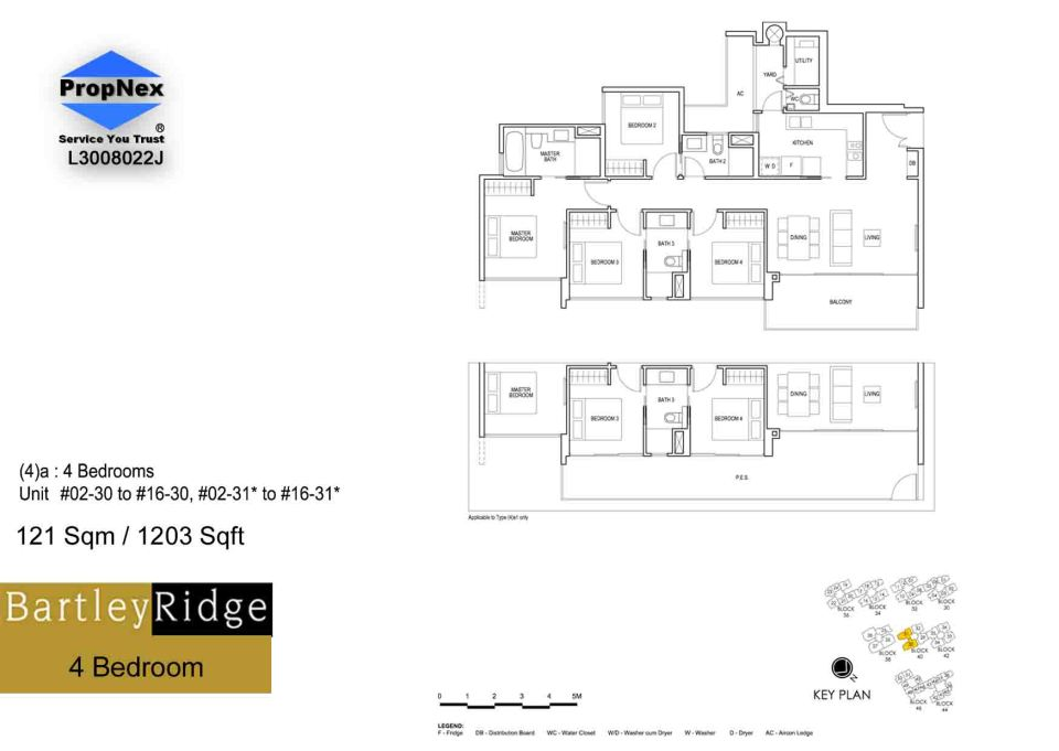 BartleyRidge 4bdrm  floor plan RS