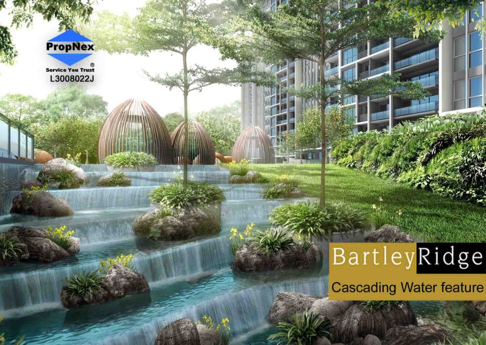 BartleyRidge Cascading Water feature